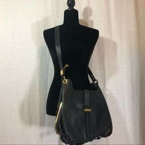 Jimmy Choo Leather Hobo Bag